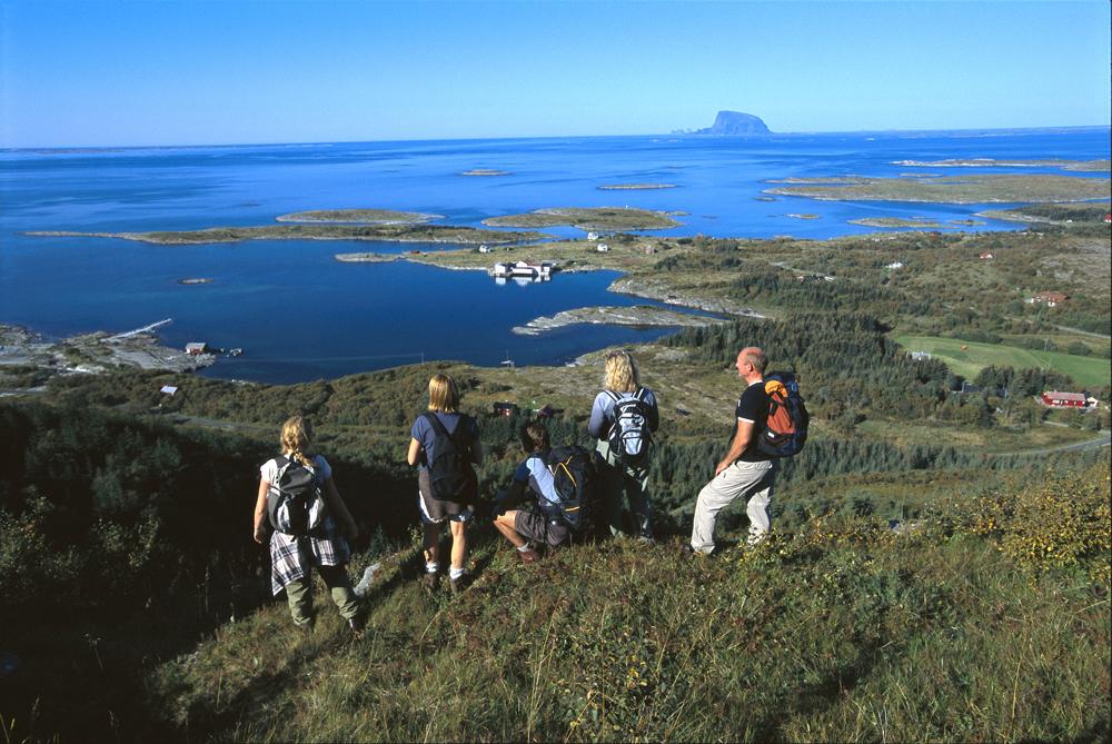 Utsikt fra Dønnamannen, foto: Terje Rakke Nordic Life IN